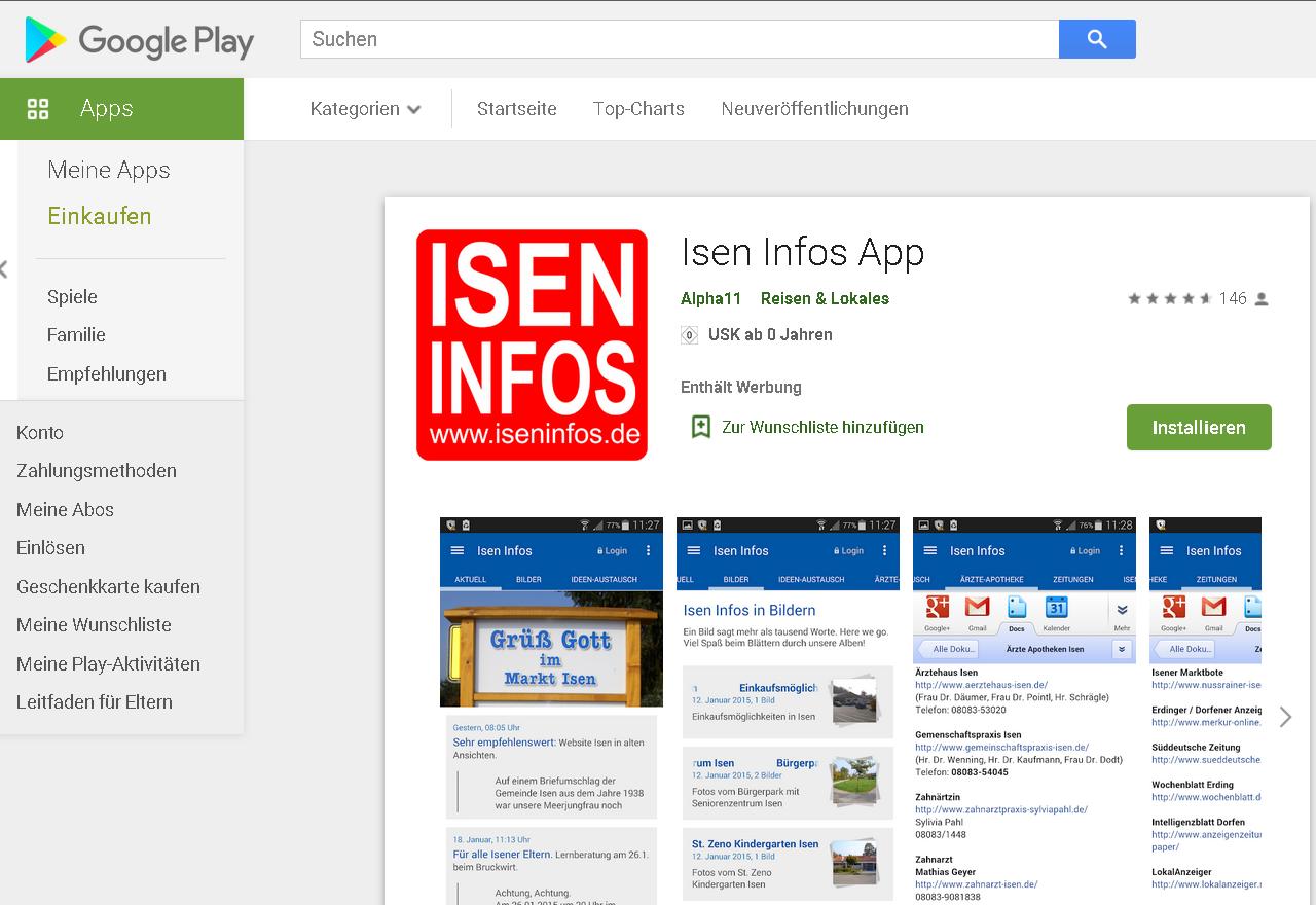 App-Isen-Infos 2015