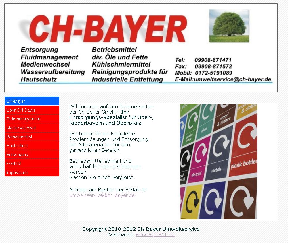 Bayer Umweltservice 2012